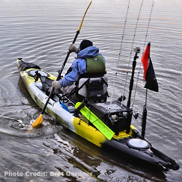 Kayak fishing essentials