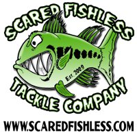 Scared Fishless Tackle Logo